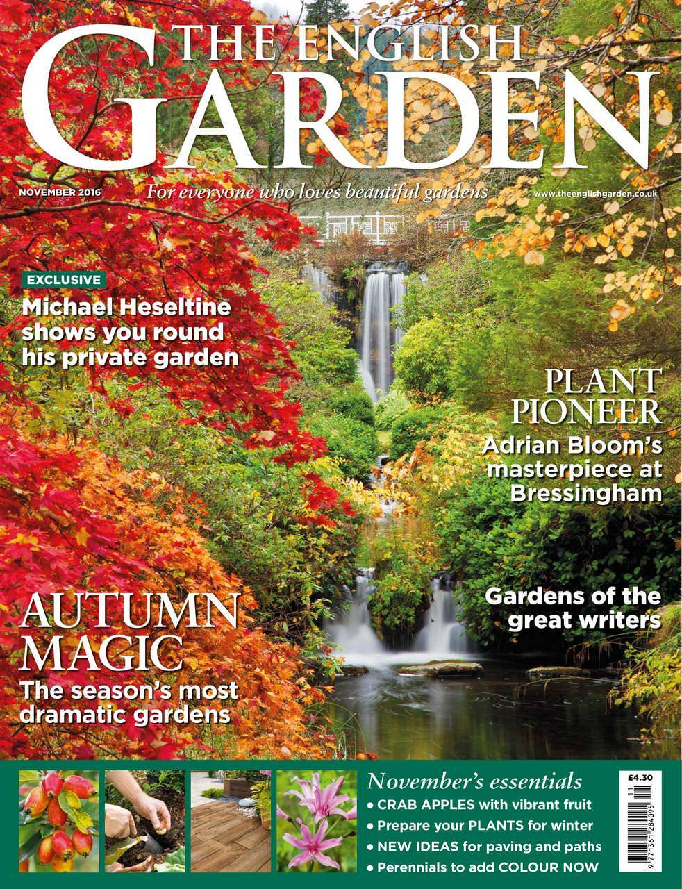 The English Garden November 2016-March 2017