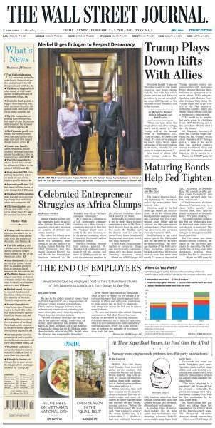 The Wall Street Journal Europe February 3 2017