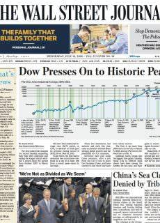 The Wall Street Journal – July 13, 2016