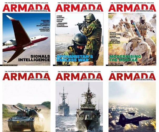 Armada International (2016) – Full Year Issues Collection