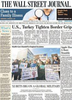 The Wall Street Journal Europe – April 27, 2016