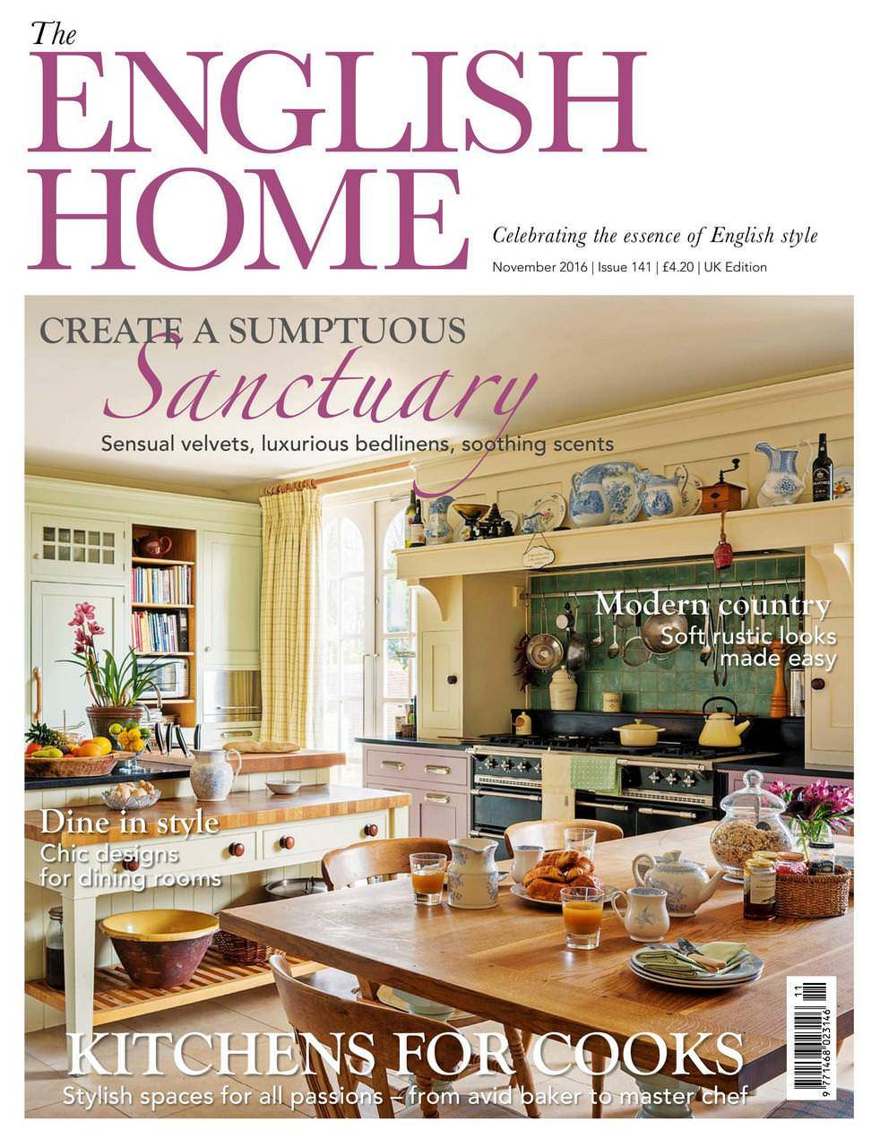 The English Home November 2016-March 2017