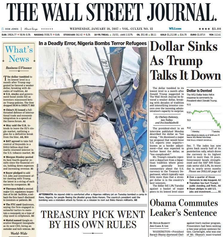 Wall Street Journal 18 Jan 2017