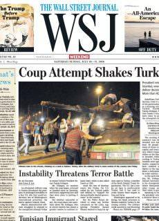 The Wall Street Journal – July 16, 2016