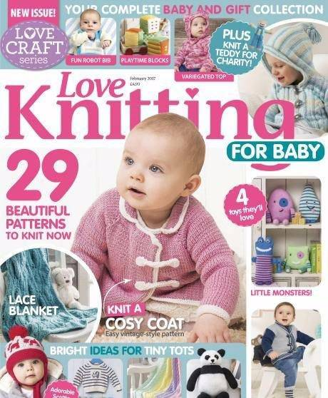 Knitting For Babies Magazine : Download knitting crochet from woman weekly october