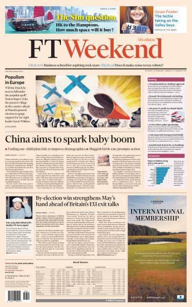 Financial Times USA 2526 February 2017