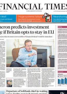 Financial Times UK – June 22, 2016