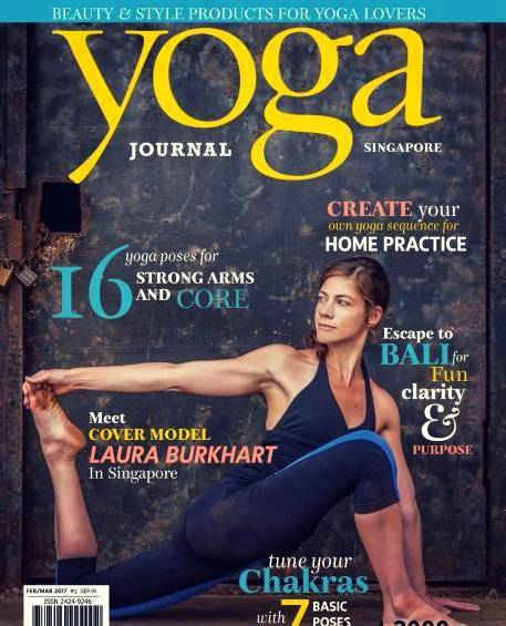 Yoga Journal Singapore February March 2017