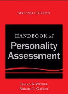Handbook of Personality Assessment, 2nd Edition