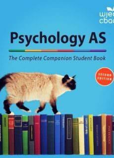 Psychology AS – The Complete Companion Student Book for WJEC, 2nd edition