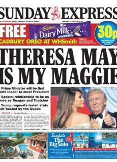 Sunday Express 22 January 2017