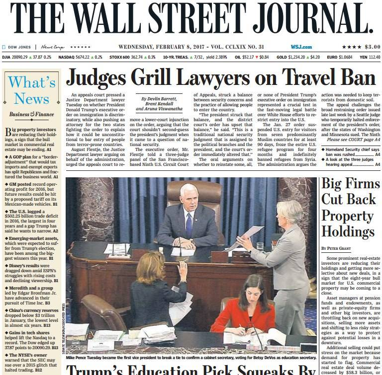 The Wall Street Journal February 8 2017