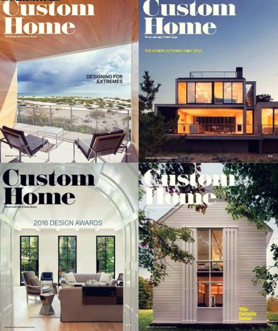 Custom Home – 2016 Full Year Issues Collection