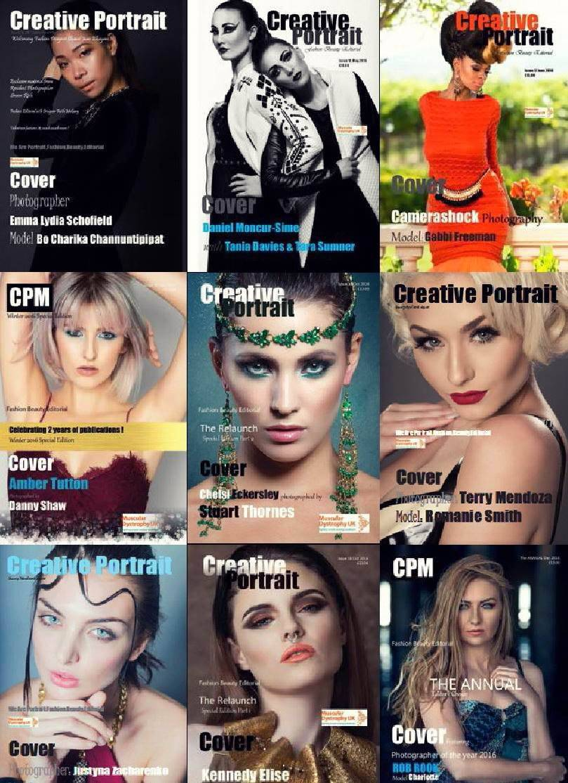 Creative Portrait Magazine – 2016 Full Year Issues Collection