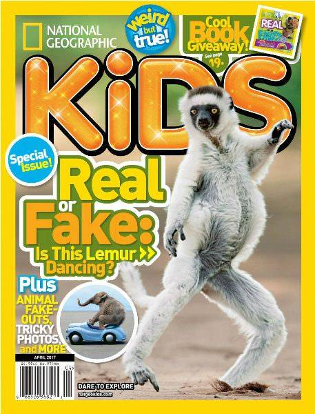 National Geographic Kids April 2017