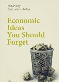 Economic Ideas You Should Forget Year: 2017