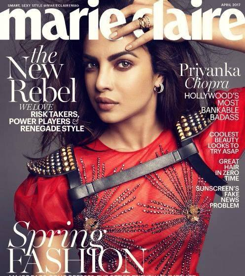 Marie Claire USA – April 2017