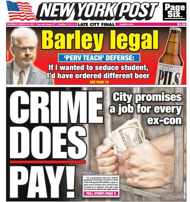 New York Post March 30 2017