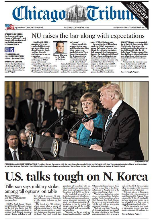Chicago Tribune March 18 2017