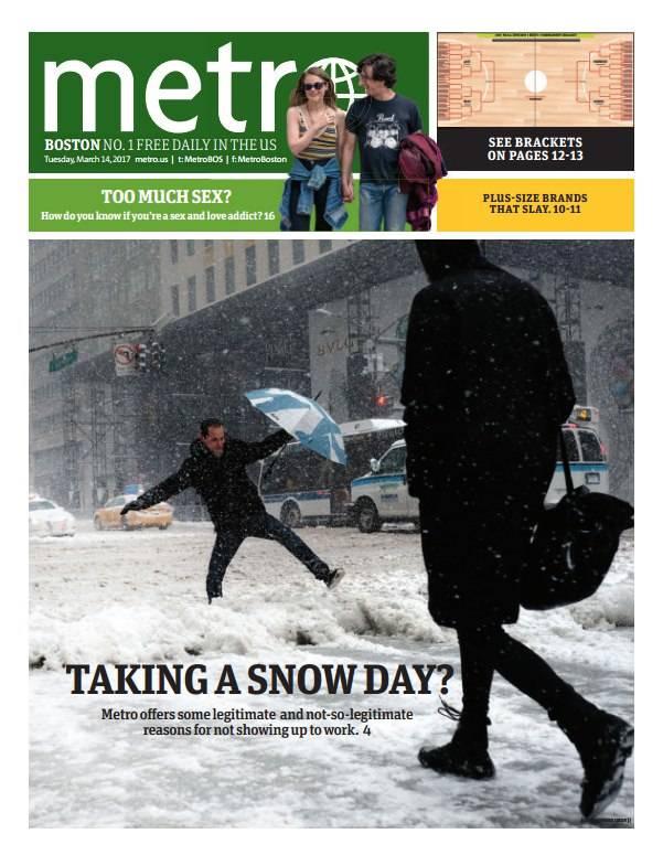Metro Boston March 14 2017