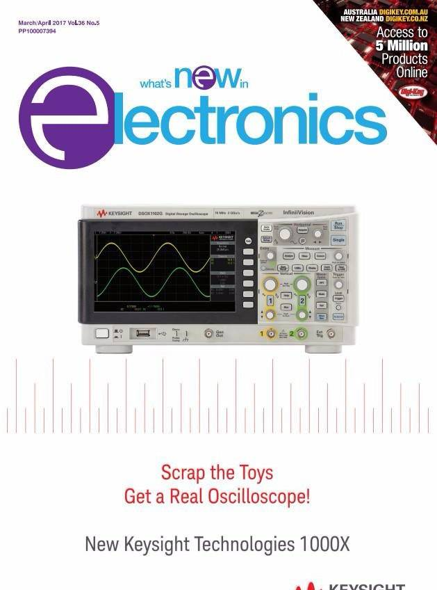 What's New in Electronics – March/April 2017
