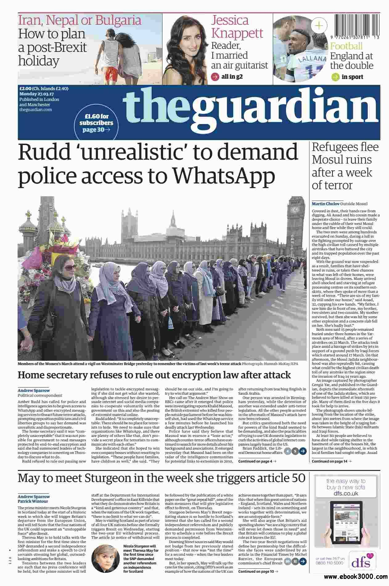 The Guardian March 27 2017
