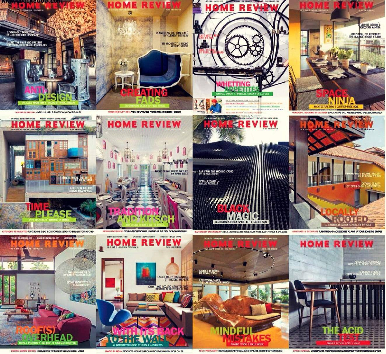 Home Review – 2016 Full Year Issues Collection