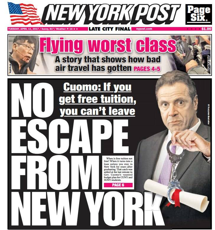New York Post April 11 2017