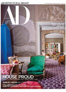 Architectural Digest USA – April 2017