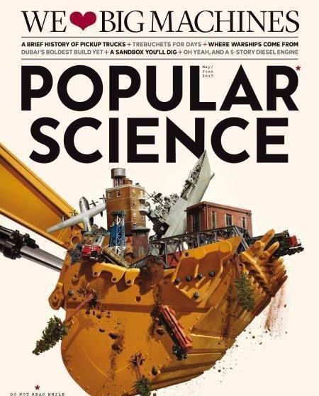 Popular Science USA – May-June 2017