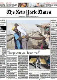 International New York Times 6 April 2017