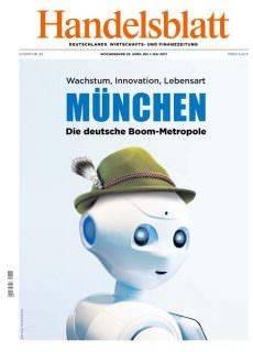 Handelsblatt — 28 April — 1 Mai 2017
