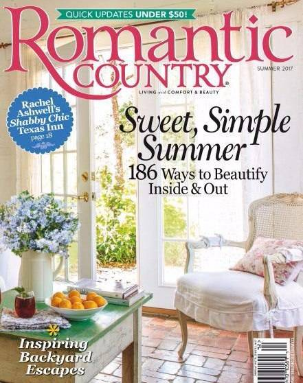 Download romantic country summer 2017 pdf magazine free for Country cottage magazine