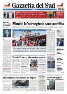 Gazzetta del Sud Cosenza — 19 Aprile 2017