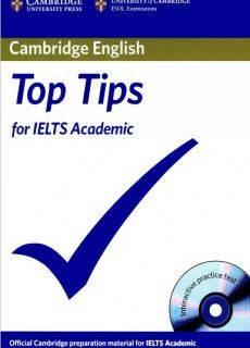 Cambridge esol top tips for ielts academic paperback