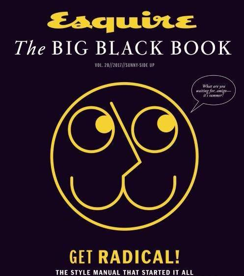 Esquire USA – The Big Black Book – Spring-Summer 2017