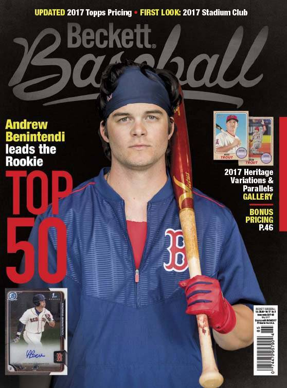 Beckett Baseball – May 2017