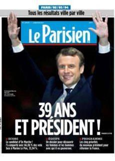 Le Parisien Du Lundi 8 Mai 2017