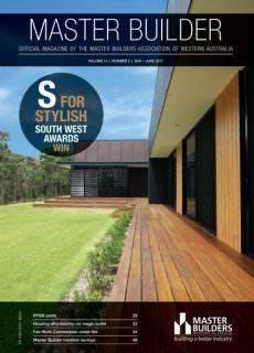 Master Builders Western Australia — May-June 2017