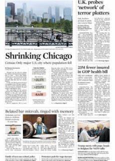 Chicago Tribune – May 25, 2017