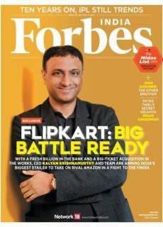 Forbes India — May 12, 2017