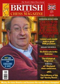 British Chess Magazine — April 2017