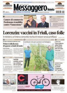 Il Messaggero Veneto Pordenone – 5 Maggio 2017