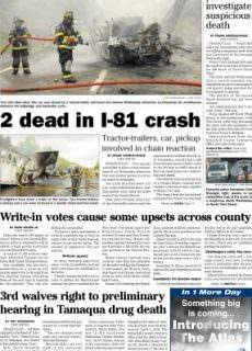The Republican Herald – May 25, 2017