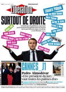 Libération du Jeudi 18 Mai 2017
