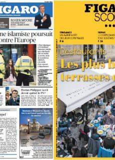 Le Figaro + FigaroScope du Mercredi 24 Mai 2017