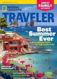 National Geographic Traveler USA – June-July 2017