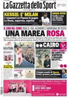 La Gazzetta dello Sport – 5 Maggio 2017