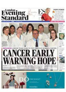 London Evening Standard – 11 May 2017