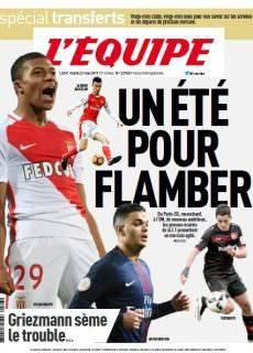 L'Équipe du Mardi 23 Mai 2017
